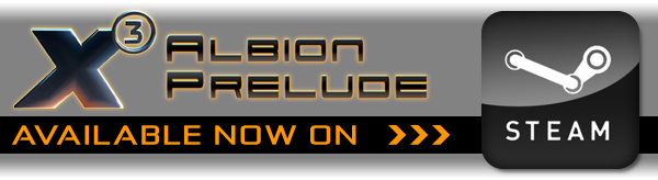 X3: Albion Prelude - Available on Steam NOW. Click here to order!