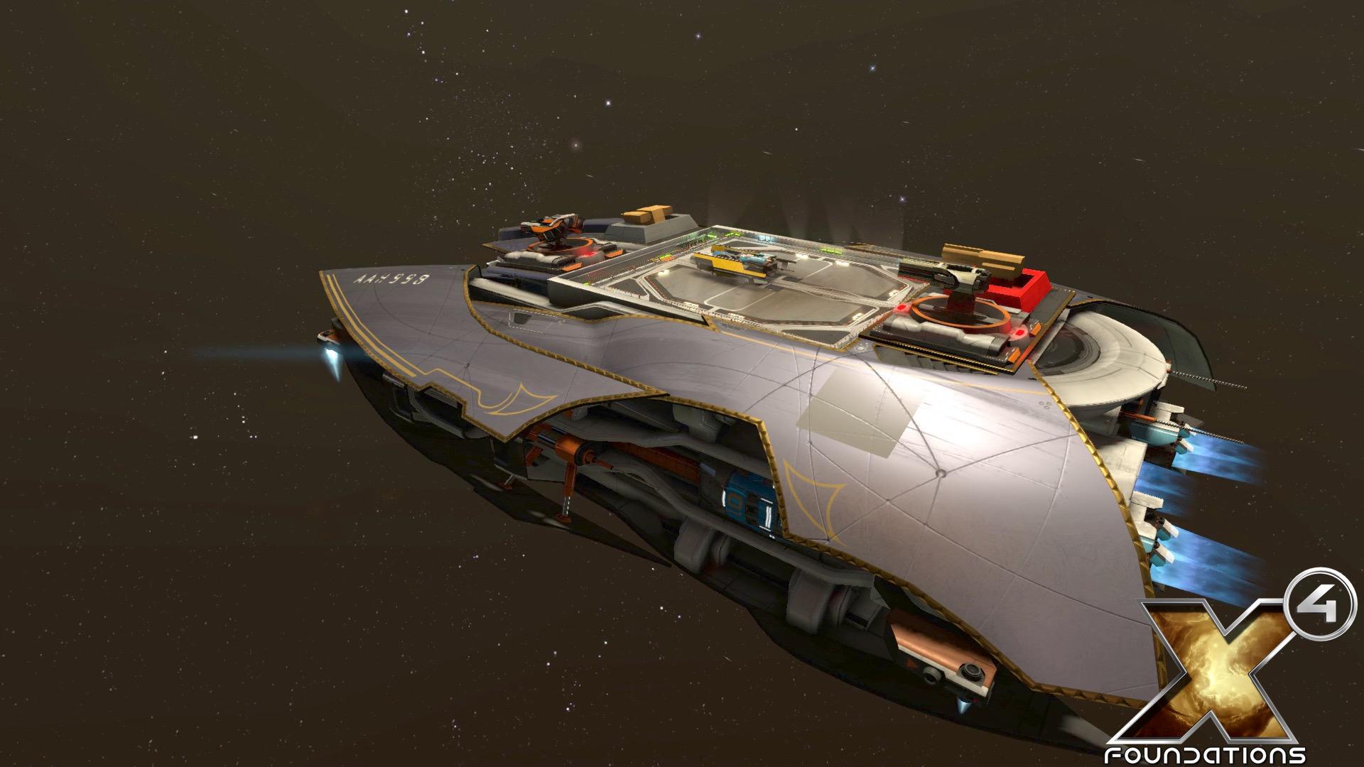 Will your favorite corvette make a return in X4? - egosoft com